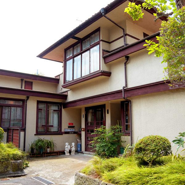 遠藤新設計 萩原邸を訪れる【朝日カルチャーセンター】