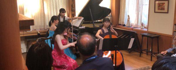 【望月ゆり子】ピアノトリオのコンサートを終えて