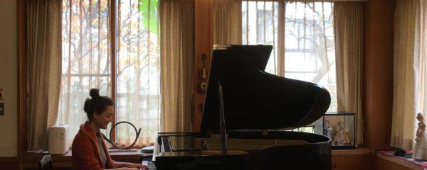 ピアニスト コルネリア ・ヘルマンさん