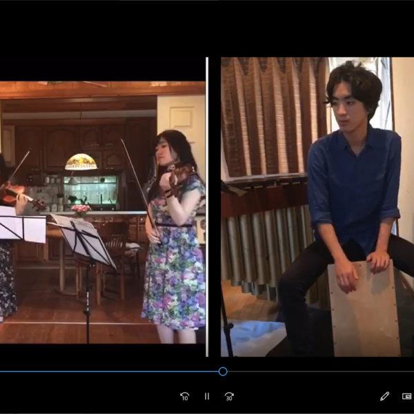 【望月ゆり子 ヴァイオリン講師】動画を撮りました!