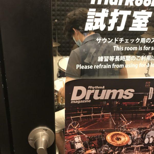 【細田銀爾 マリンバ、打楽器講師】新しい楽器